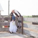 Western Wedding Bride + Groom