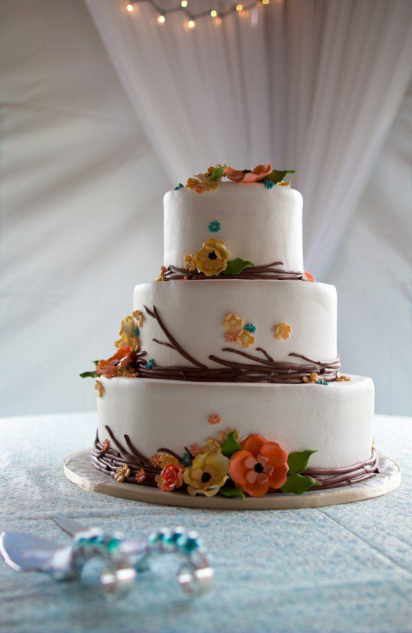 rustic autumn wedding cakes fall wedding cakes rustic wedding chic 19483