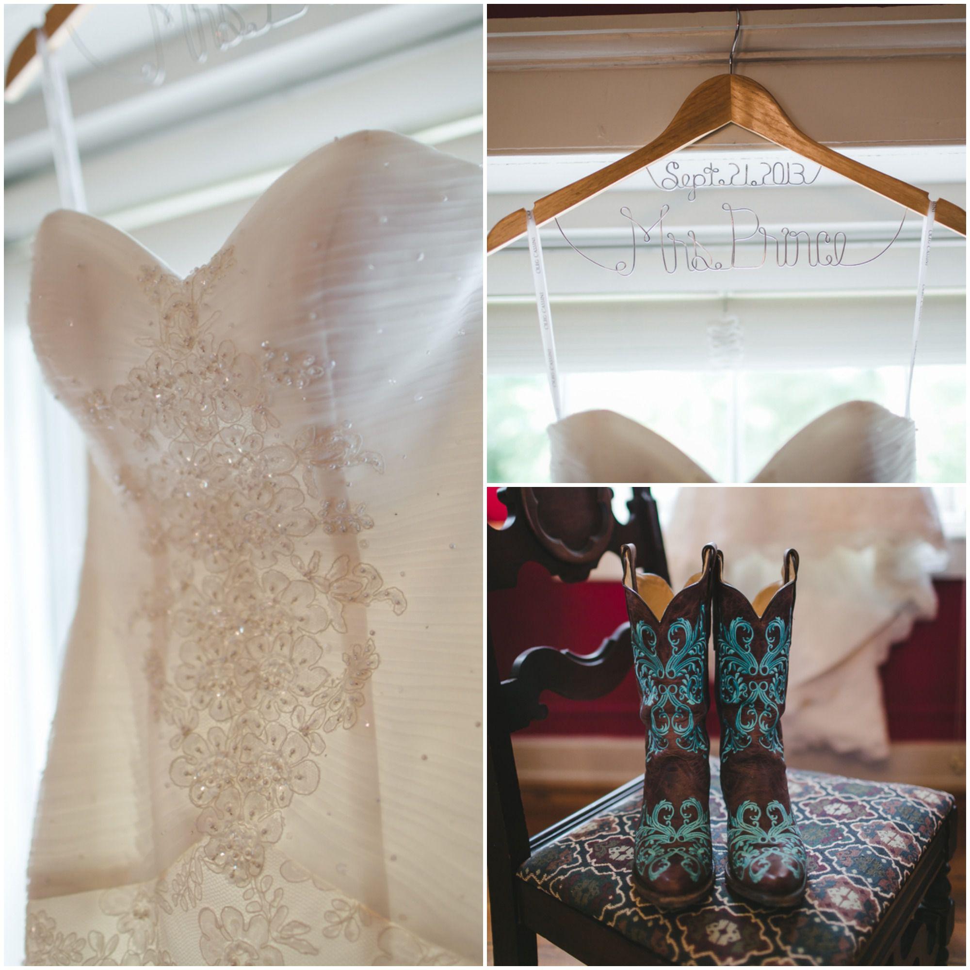 Light Blue Country Wedding - Rustic Wedding Chic