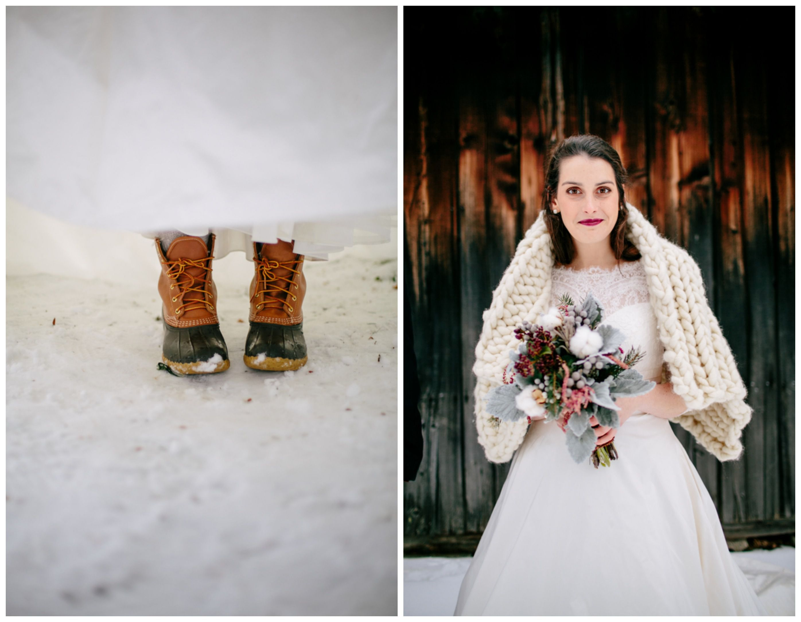 How To Plan A Winter Wedding - Rustic Wedding Chic