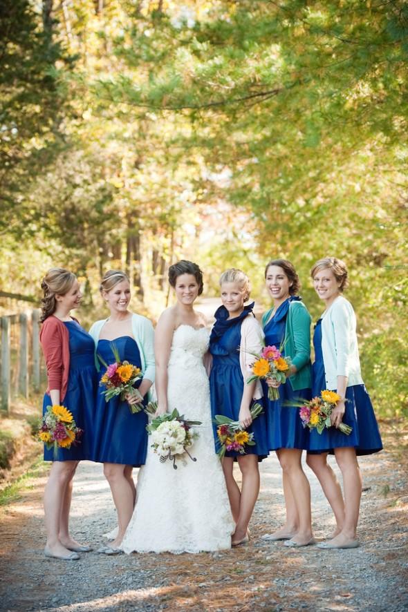 5 Ways To Keep Your Bridesmaids Warm Rustic Wedding Chic
