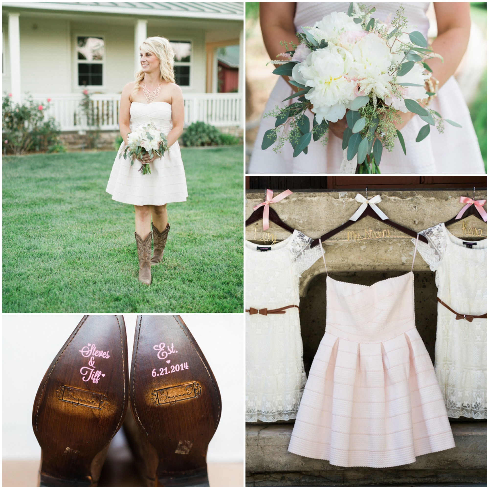 Country Shabby Chic Wedding