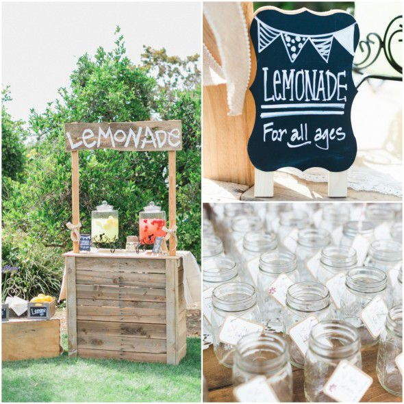 Country shabby chic wedding rustic wedding chic for Rustic lemonade stand