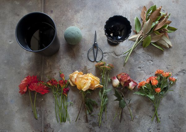 How To Arrange A Centerpiece Rustic Wedding Chic