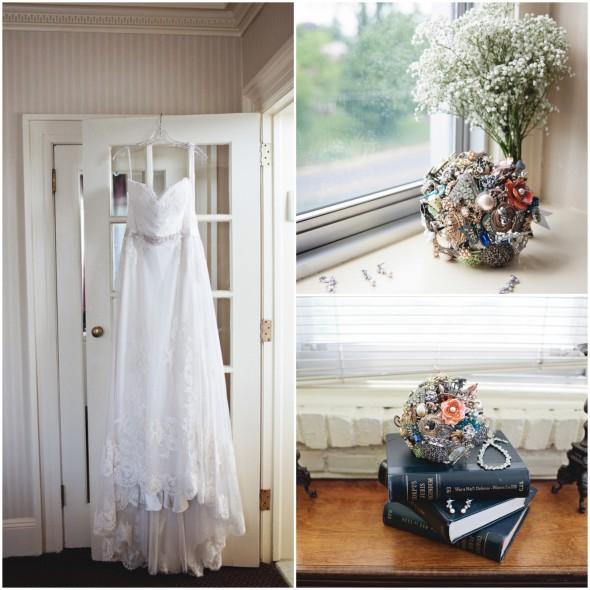 Garden Dress and Bouquet