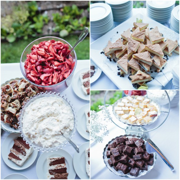 Garden Wedding Sweets Table