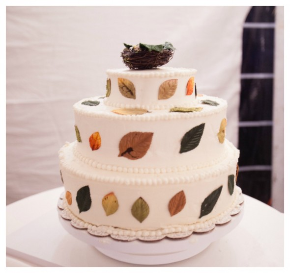 nest cake topper