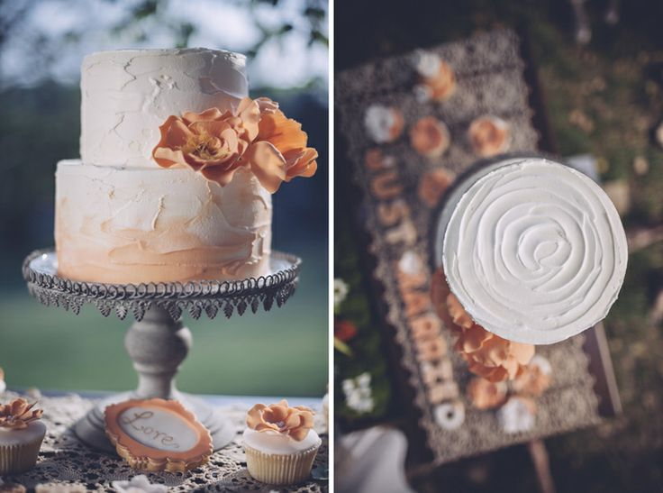 Fall Wedding Cakes - Rustic Wedding Chic