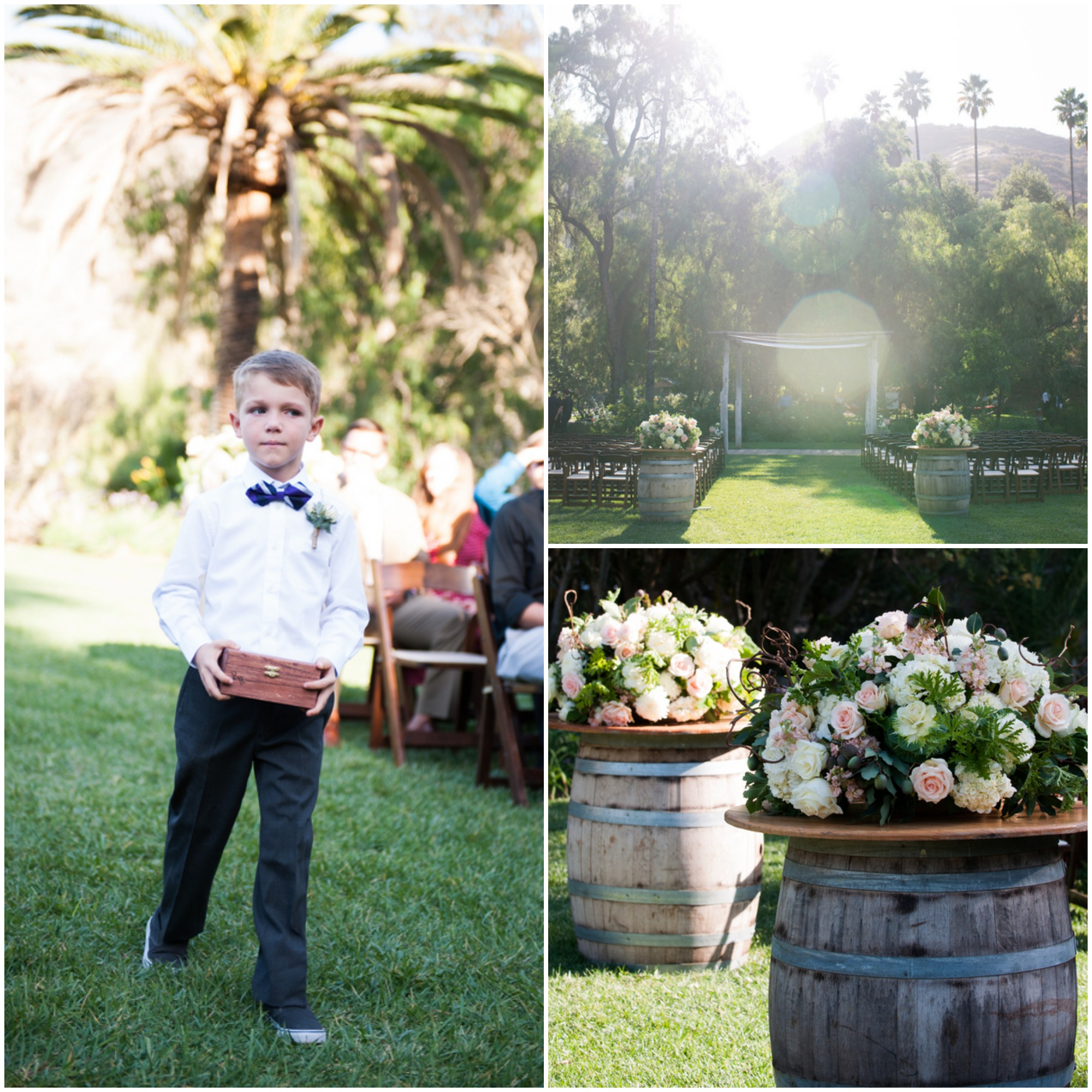 Outdoor Wedding Ceremony: Historic Ranch Hosts An Outdoor Wedding