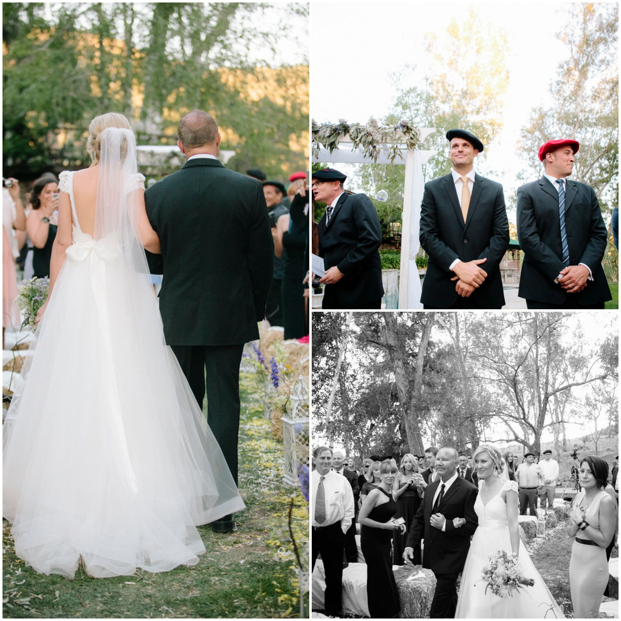 A Surprise Wedding At The Bride S Rose Farm In California: French Inspired Wedding
