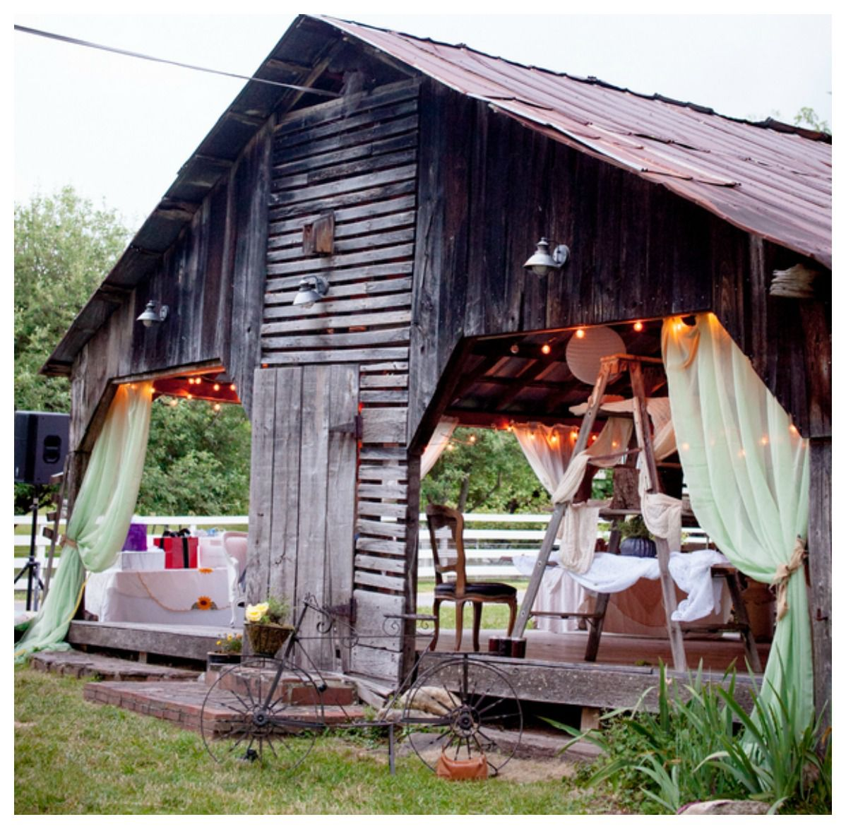 Unique Vintage Barn Wedding Rustic Wedding Chic