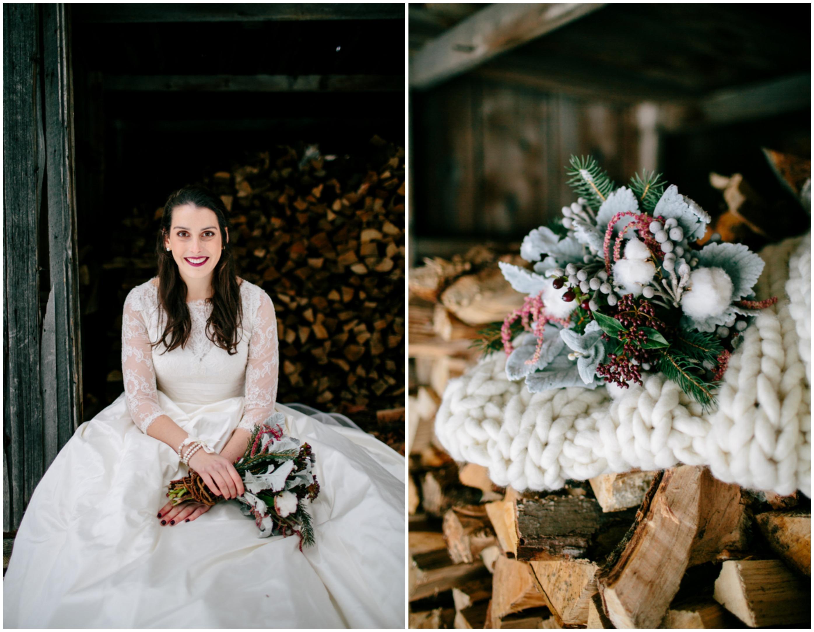 Winter Rustic Wedding Inspiration Rustic Wedding Chic