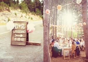 Sierra Nevada Rustic Wedding