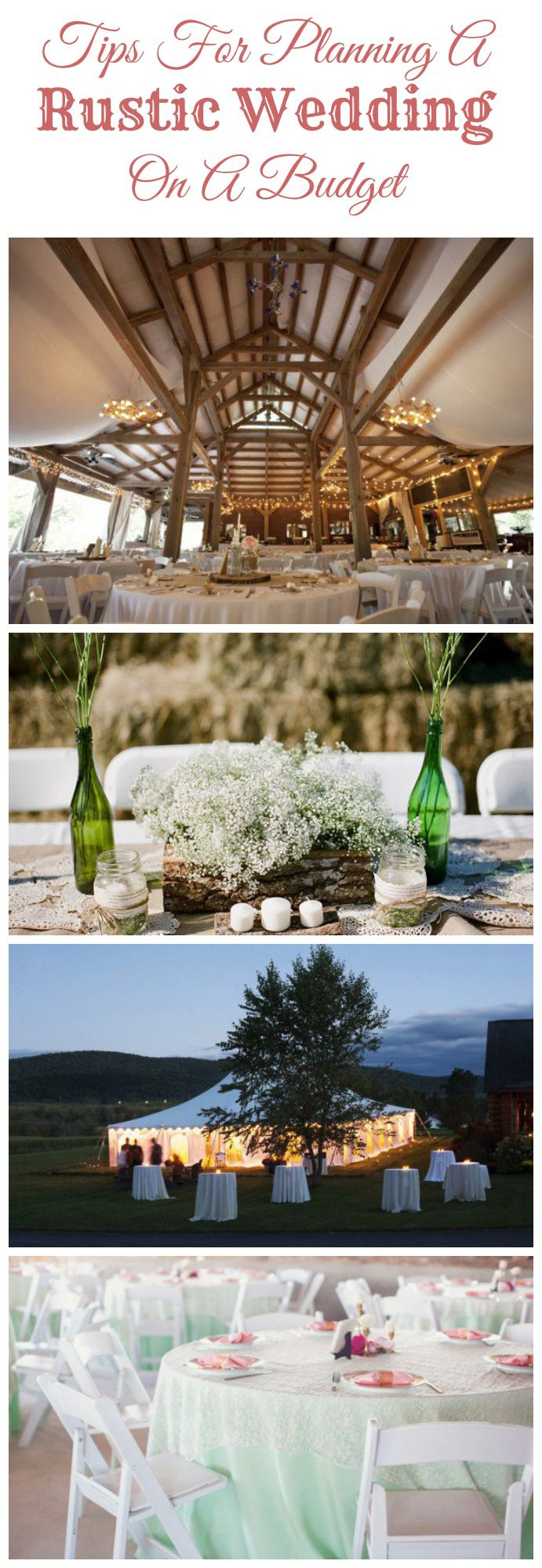 Tips For Planning A Rustic Wedding On A Budget Rustic Wedding Chic