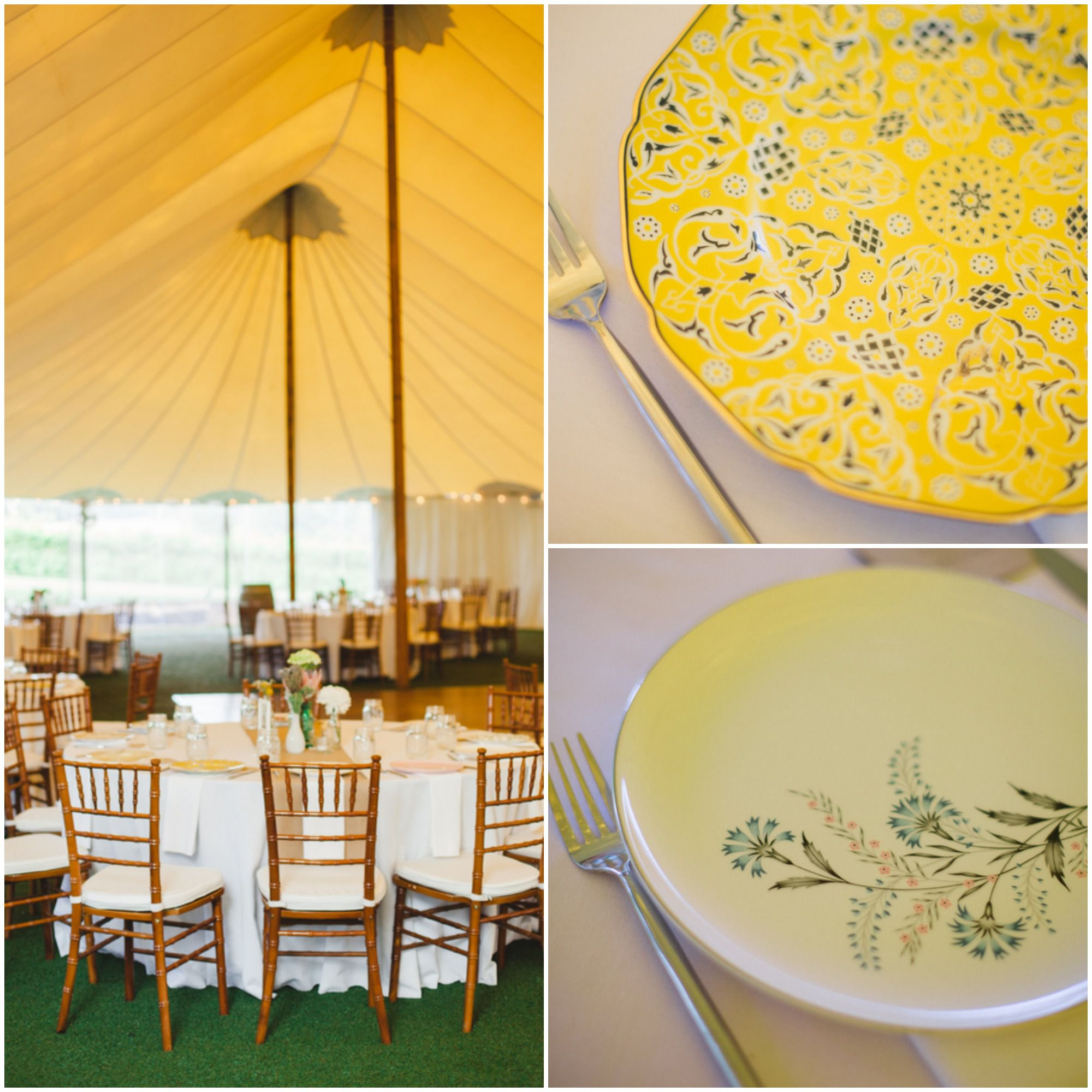 Southern Wedding Reception Food: A Vintage Style Vineyard Wedding