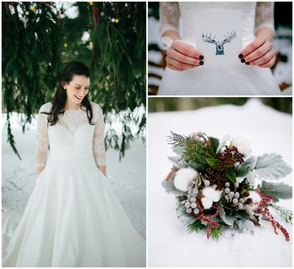 30 Inspirational Rustic Barn Wedding Ideas: Winter Rustic Wedding Inspiration