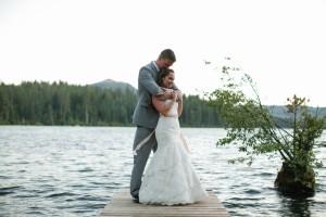 Rustic Lake Wedding