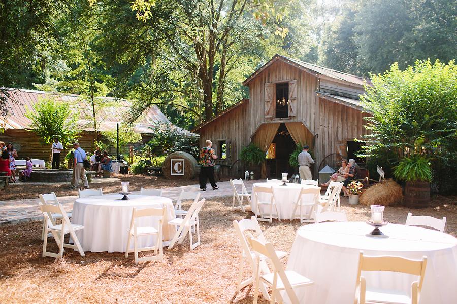 Southern Elegant Barn Wedding - Rustic Wedding Chic
