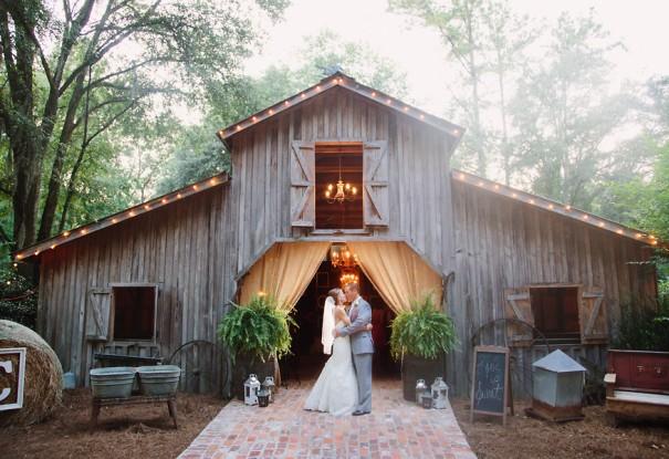 Southern Barn Wedding: Sarah + Stephan