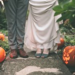 Rustic Fall Wedding With Pumpkins