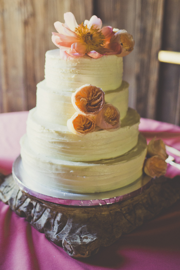 Cake Images Dow : Colorful California Garden Wedding - Rustic Wedding Chic