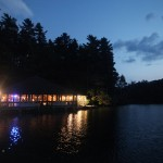 Evening at this Lakeside Vermont Wedding Reception