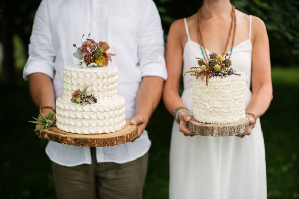 The Perfect Rustic Wedding Cakes