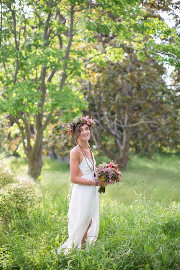 Rustic Boho Style Bride