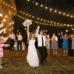 Southern Wedding Sparkler Send-Off