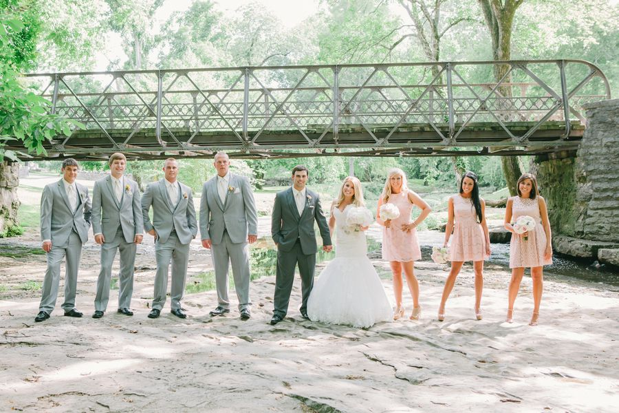 Southern Wedding Party