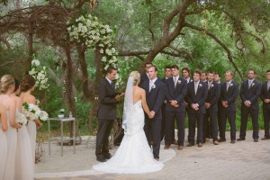 Texas Outdoor Wedding Ceremony