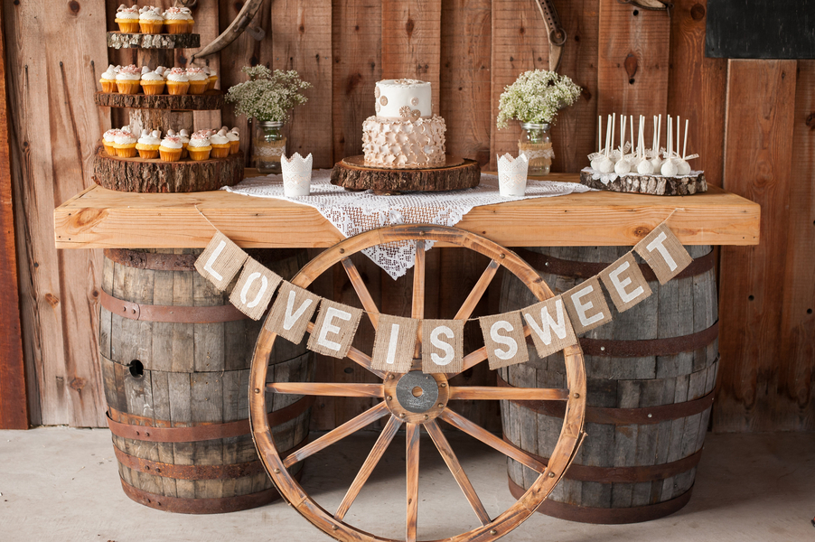 Barn Engagement Party - Rustic Wedding Chic