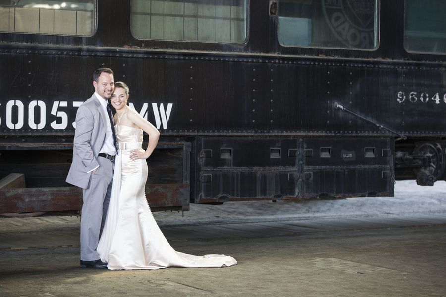 Southern Wedding At RR Museum
