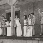 Southern Wedding Party at RR Station Museum