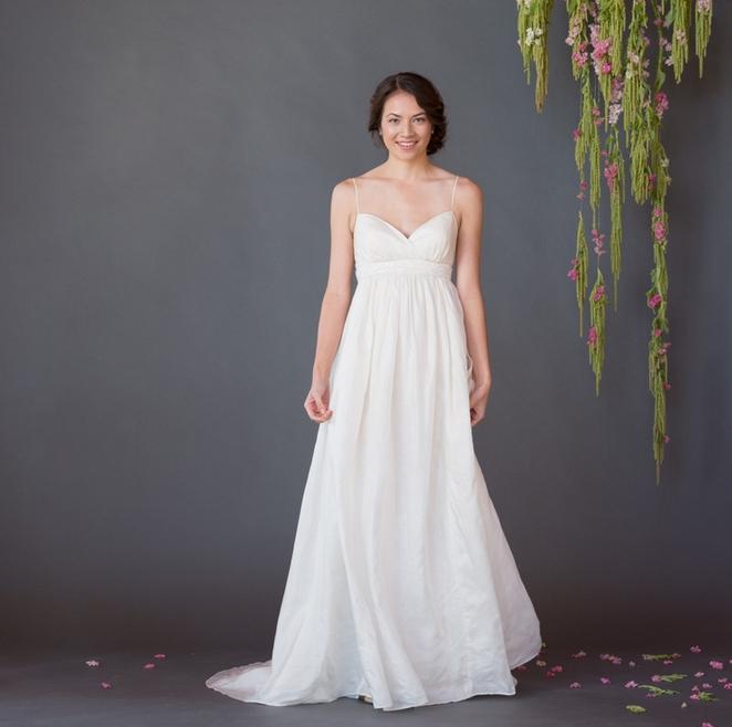 Eco Friendly And Fair Trade Wedding Dress Rustic Wedding