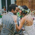 Eco-friendly wedding gown