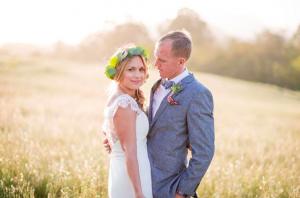 Boho Style Ranch Wedding: Eva & Ken