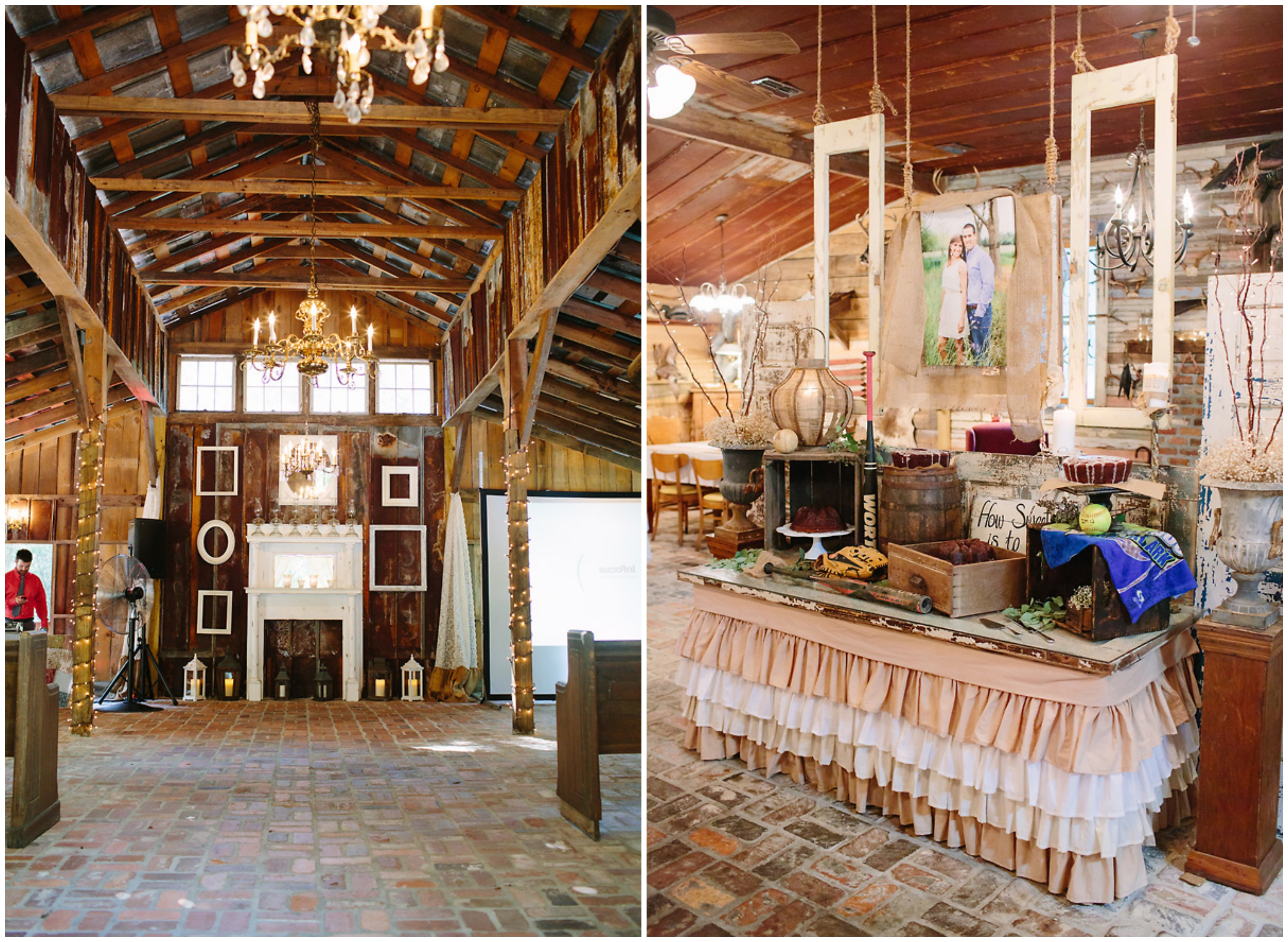 Southern Elegant Barn Wedding
