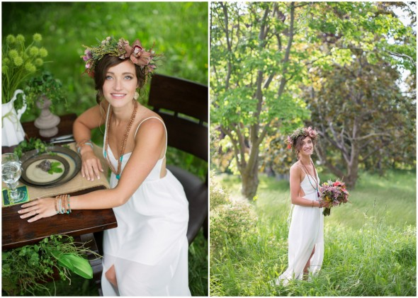 Bohemian Bride With Great Style Ideas