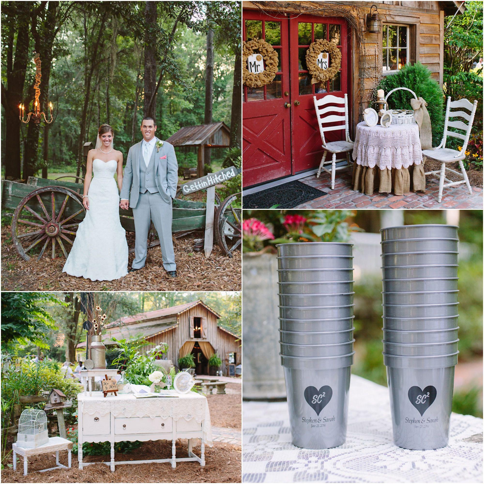 Elegant Country Wedding Ideas: Southern Elegant Barn Wedding