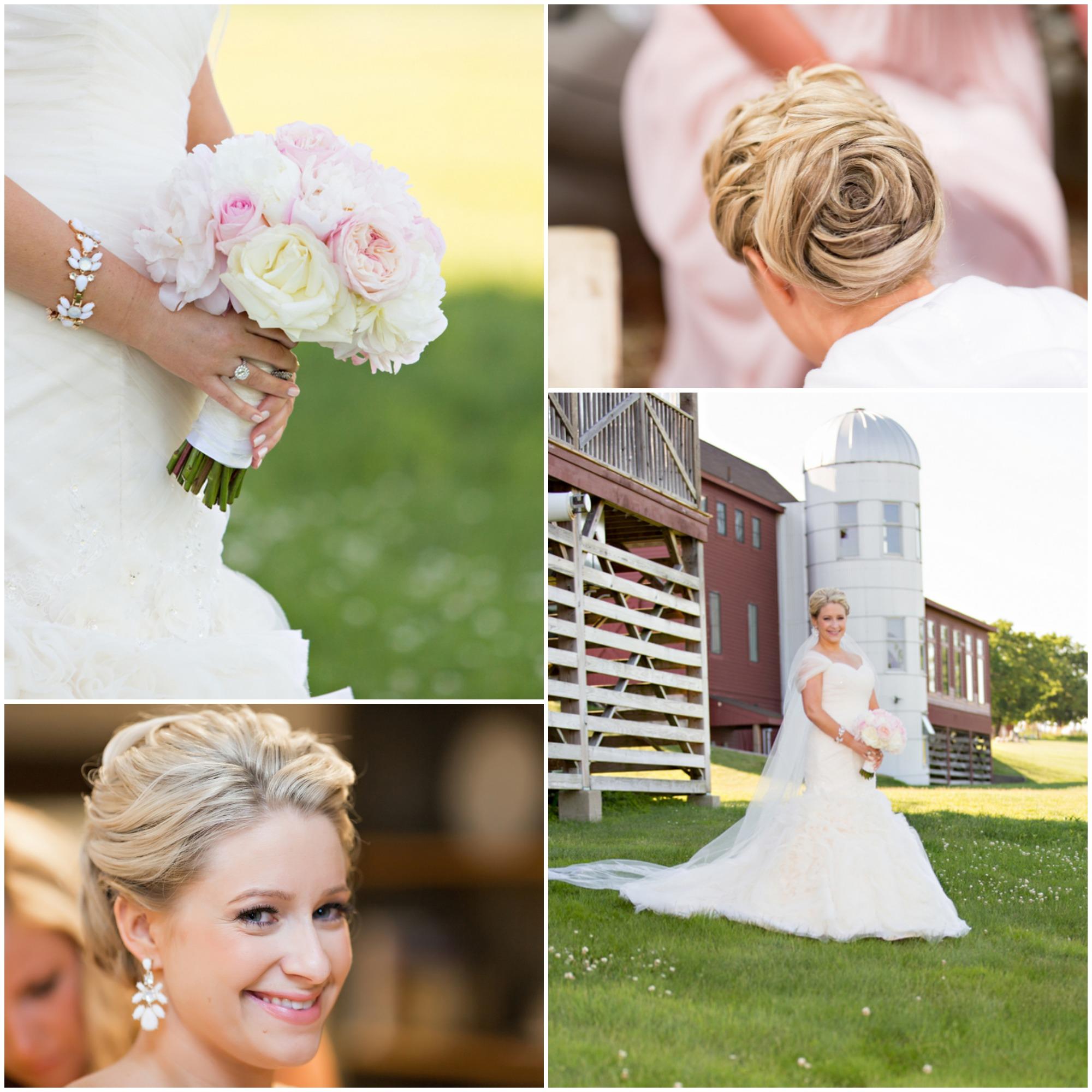 Gibbet Hill Wedding: The Barn At Gibbet Hill Wedding- Rustic Wedding Chic