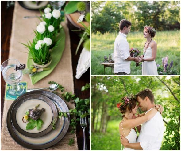 Nature Style Wedding