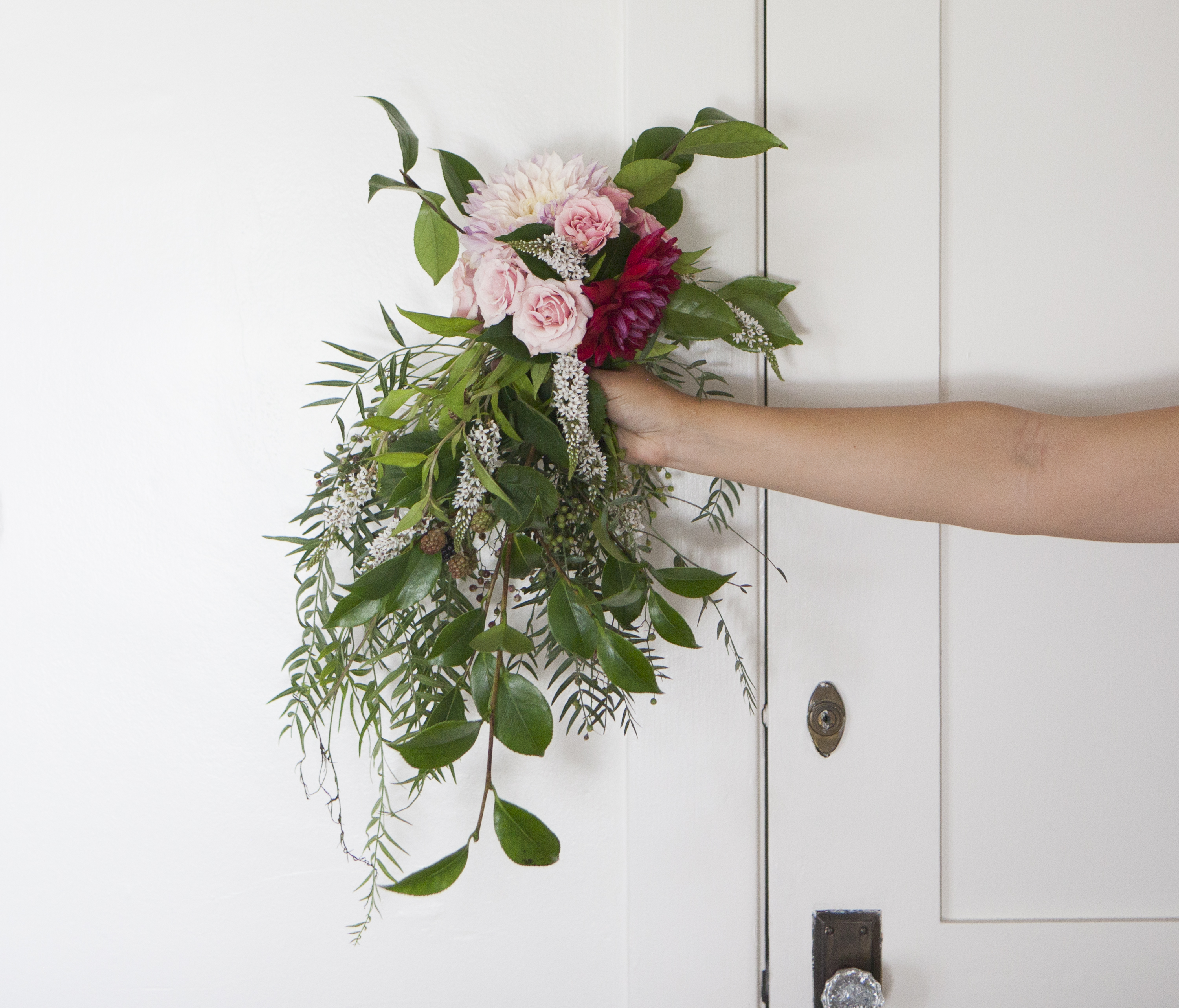 How to Make a Weeping Bouquet
