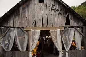 Decorated Country Wedding Barn
