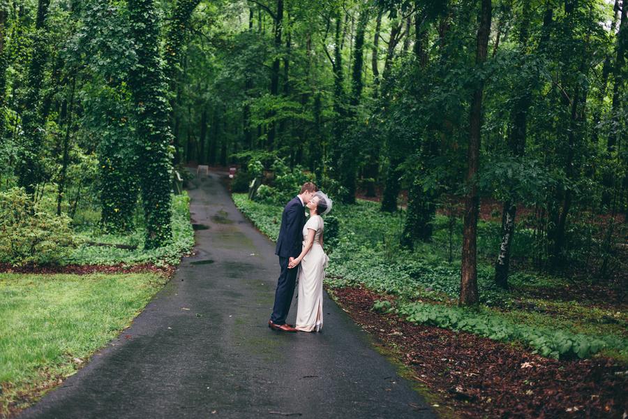 Vintage Woodsy Wedding