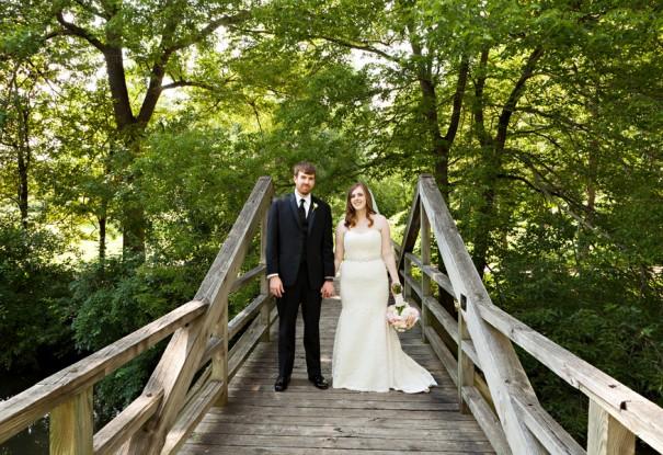 Arboretum Wedding: Melissa + Matthew
