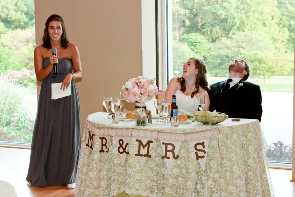 Maid of Honor Speech at Wedding