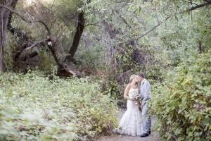 Vintage Style Backyard Wedding