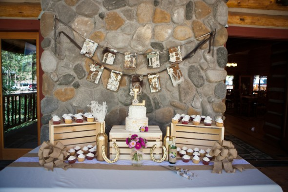 Rustic mountain lodge wedding rustic wedding chic