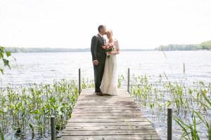 Bride + Groom Lakeside